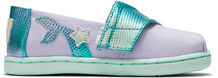 Lavender Blue Canvas Iridescent Snake Tiny Classics