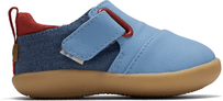 Blue Nubuck Synthetic Baby Whiley Sneakers