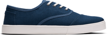 Navy Heritage Canvas Men's Cordones Cupsole Sneakers