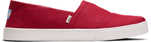 Red Canvas Men's Cupsole Classics Venice Collection