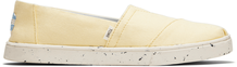 Plant Dye Yellow Canvas Women's Cupsole Alpargatas Venice Collection