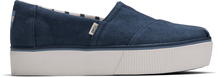 Blue Vintage Canvas Platform Women's Boardwalk Classics Venice Collection