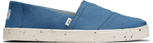 Plant Dye Blue Canvas Men's Cupsole Classics Venice Collection