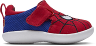 Red MARVEL Spider Man Face Print Baby Whiley Sneakers