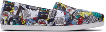 Multi MARVEL Comic Pop Print Women's Classics