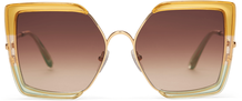 Tulum Bright Gold Triple Lamination/ Gold Brown Lens
