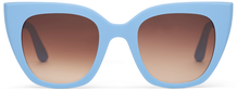 TRAVELER- Sydney Matte Poolside Blue/Brown Gradient