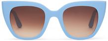 TRAVELER- Sydney Matte Poolside Blue/Brown Gradient
