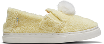 Yellow Baby Chick Terry Cloth Tiny TOMS Luca Slip-Ons