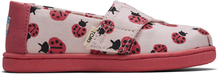 Creole Pink Love Bugs Print Tiny TOMS Classics