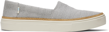 Drizzle Grey Woven Parker Slip-On