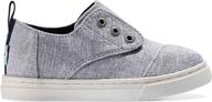 Drizle Grey Chambray Tiny Cordones Sneaker