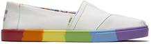 White Unity Canvas Alpargata Cupsole